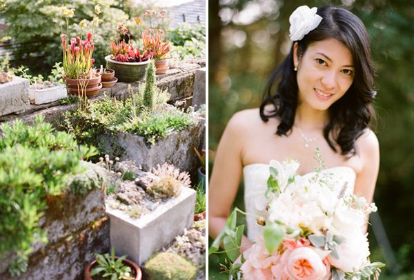 Succulent Wedding Ceremony