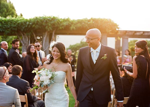 Sunset Garden Wedding