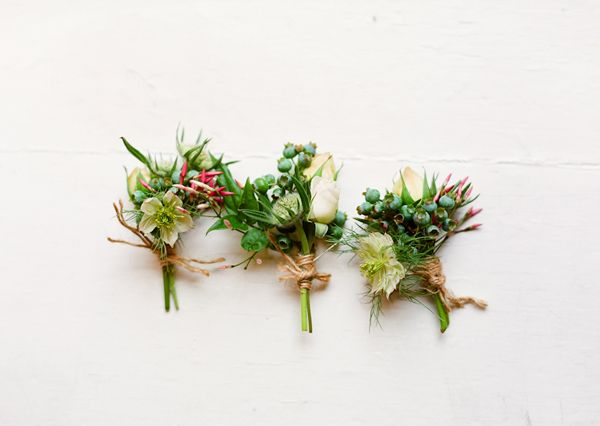 Unique Wedding Boutonnieres