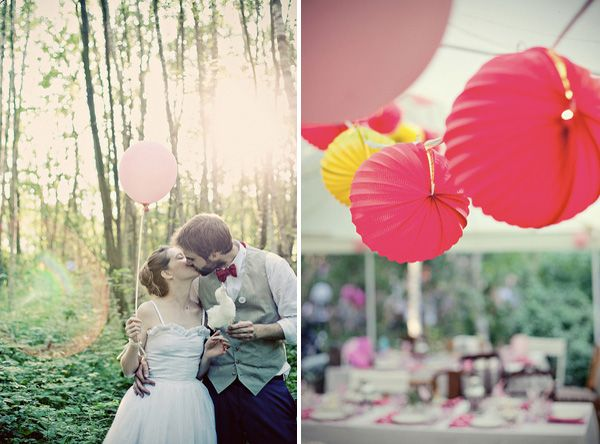 Cotton Candy Wedding Ideas Once Wed