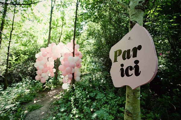 French Forest Wedding Ideas