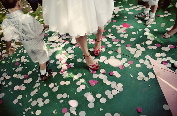 Pink Wedding Confetti