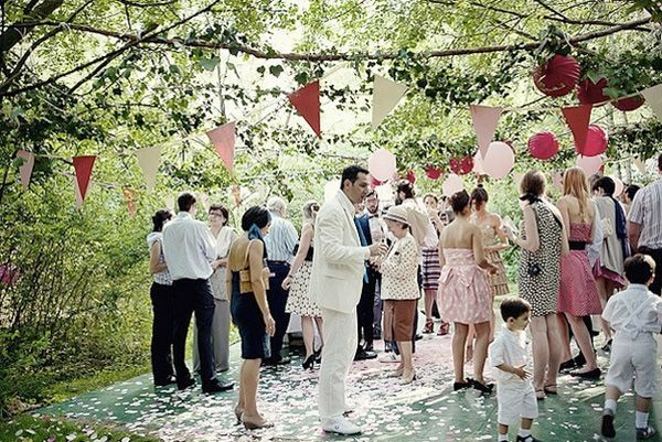 French Forest Wedding