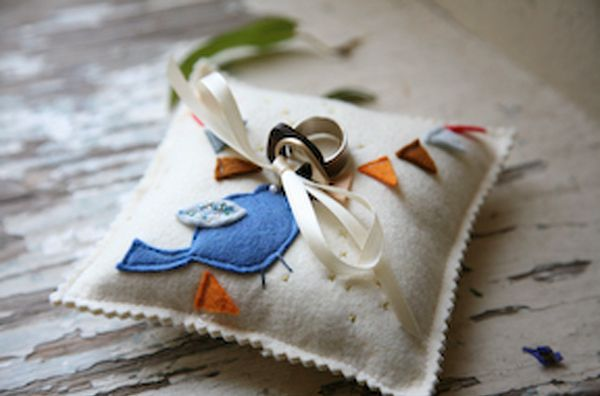 Diy Ring Bearer Pillow Ideas