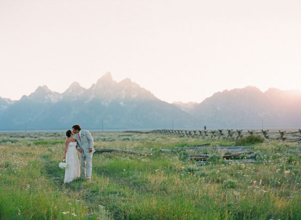 Sweet Jackson Hole Wedding