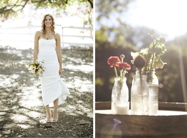 Glass Jar Wedding Ideas