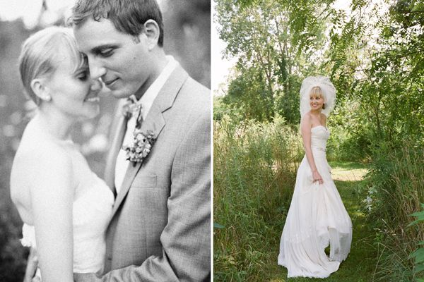 DIY Michigan Farm Wedding