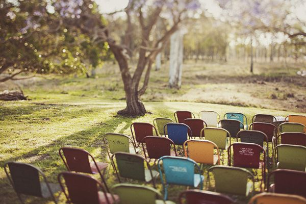 Metal Wedding Chairs