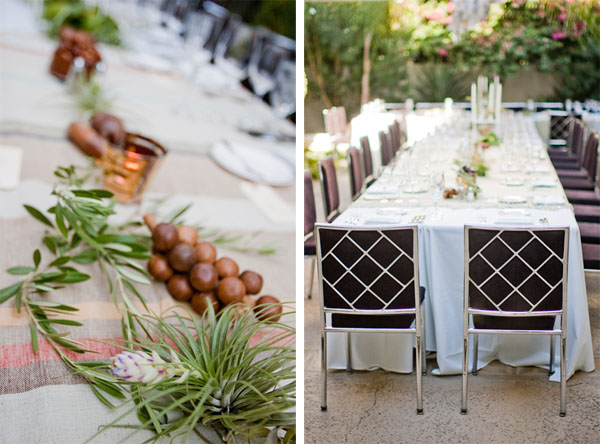 Organic Wedding Centerpieces