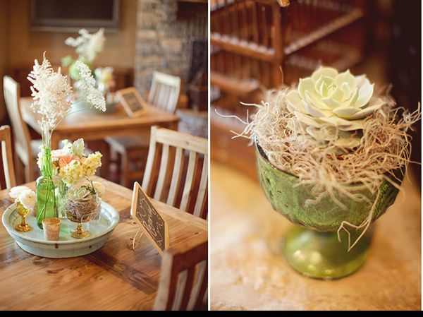 Rustic Centerpieces For Weddings : Romantic texas wedding iii once wed