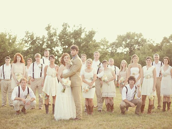 country rustic wedding ideas themes dress