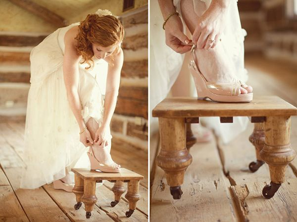 Rustic Wedding Shoes