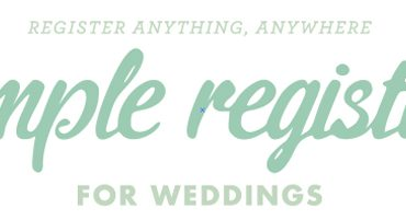 Simple Wedding Registry