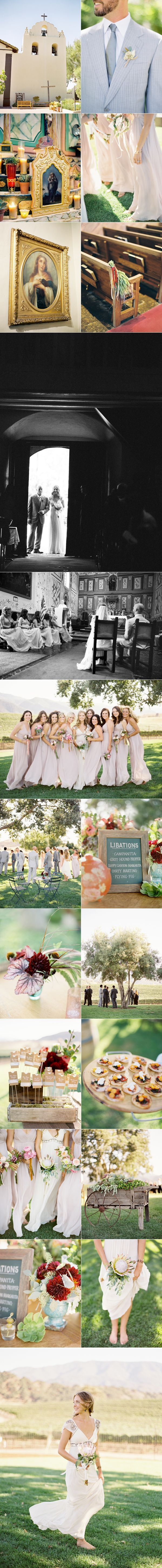 Santa Ynez Vineyard Wedding II