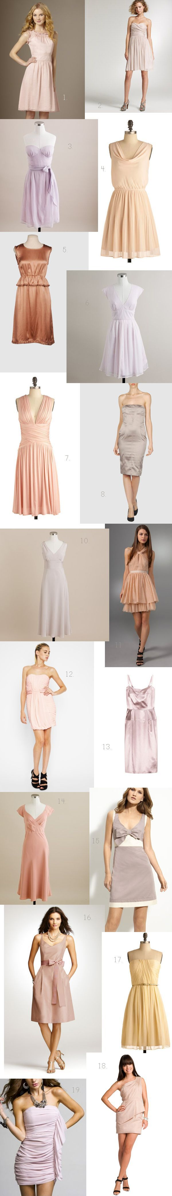 Old Rose Bridesmaid Dresses