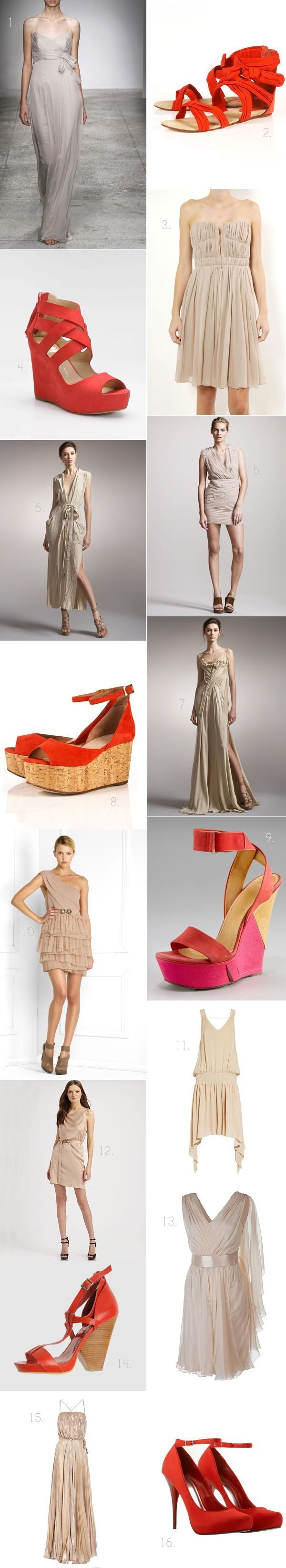 Nude And Vermillion Roundup