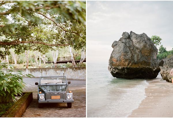 Bali Coast Vintage Grey Car