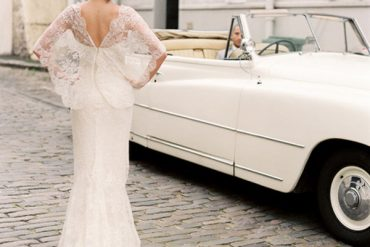 Bride And Groom Bentley Elie Saab