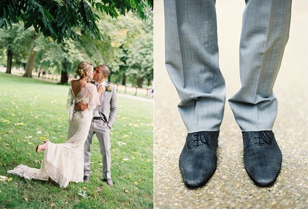 Bride And Groom Groom Shoes