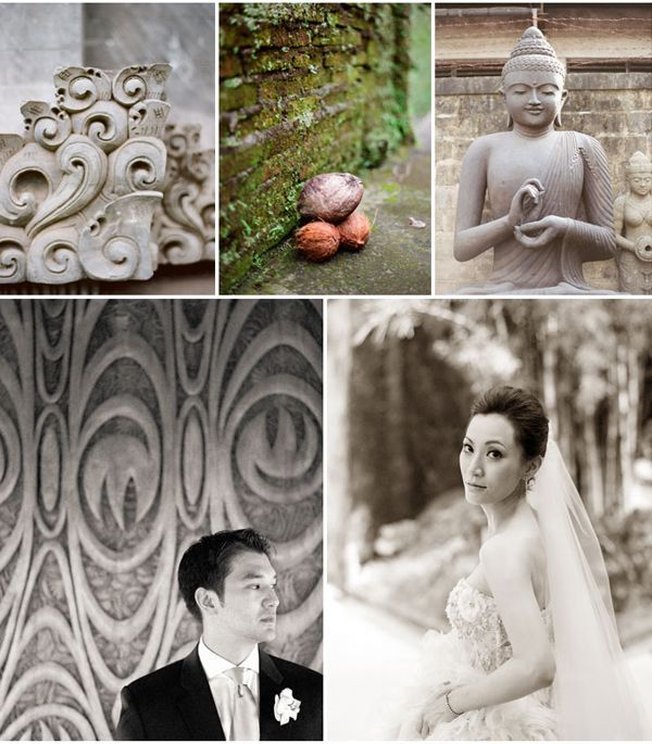 Bride Groom Bali Decor