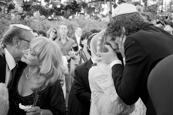 Bride Groom Kiss