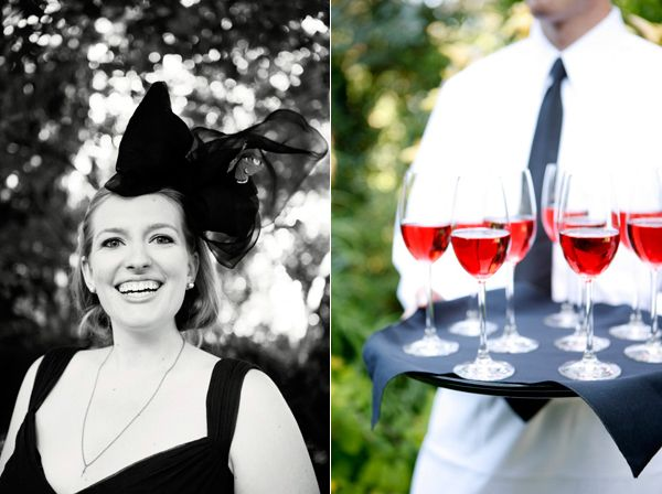 Bridesmaid Butterfly Headpiece Drinks