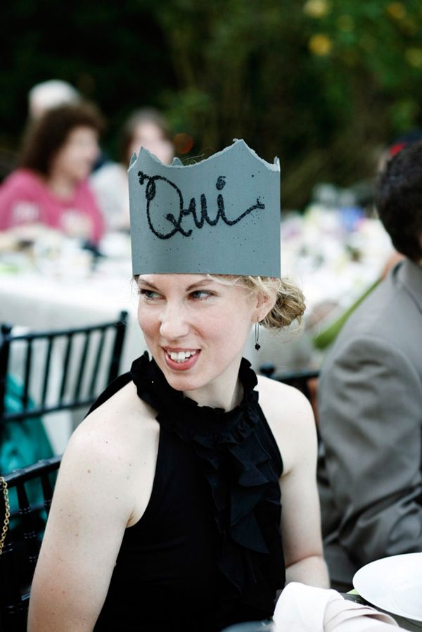 Diy Paper Crown Guest