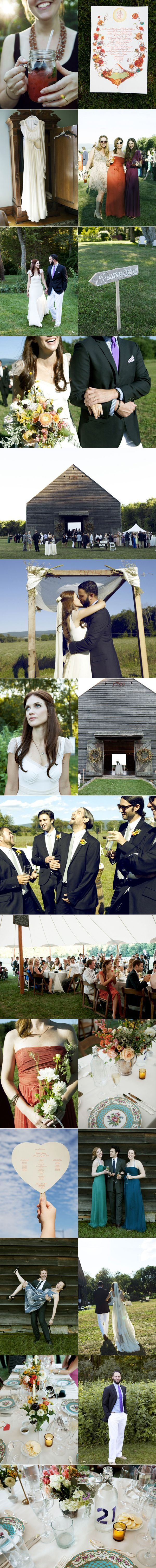 Sweet New York Farm Wedding