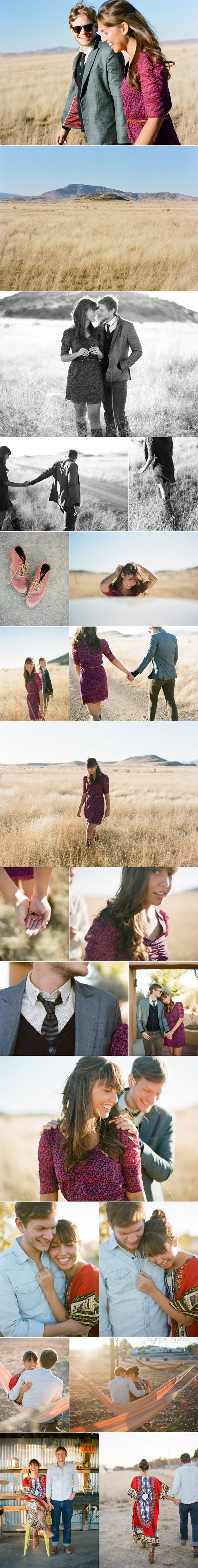 A Marfa Engagement & Wedding