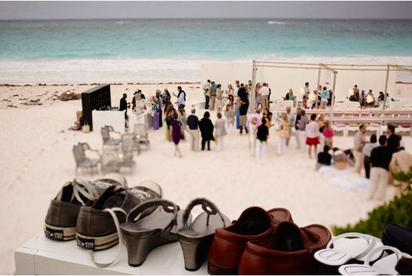 Shoes Beach Guests Reception