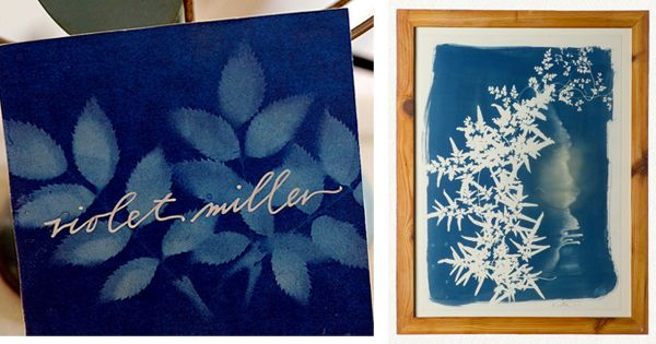 Sunprint Inspiration Place Card
