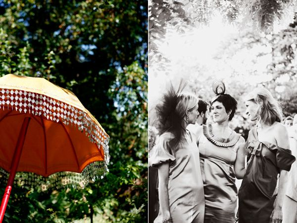 Umbrella Bridesmaids Hairpieces
