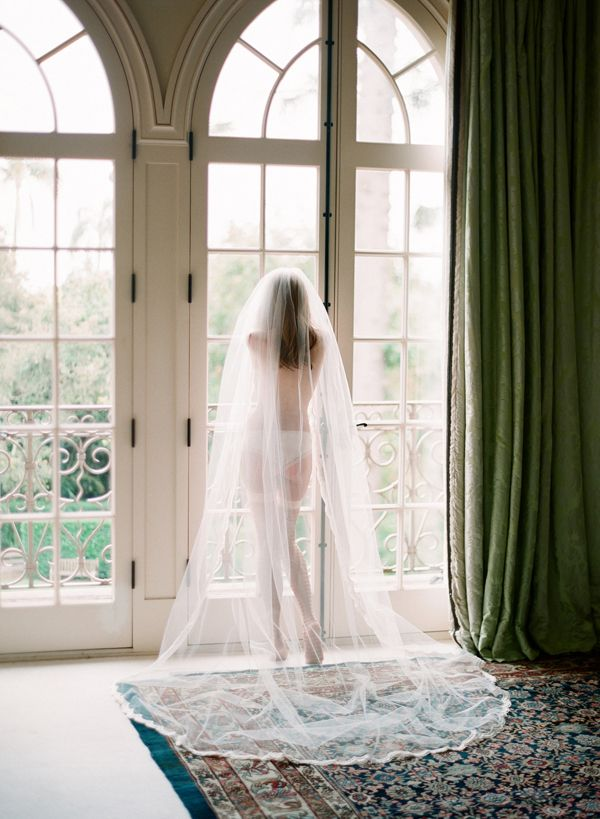Tinted Wedding Boudoir - Once Wed