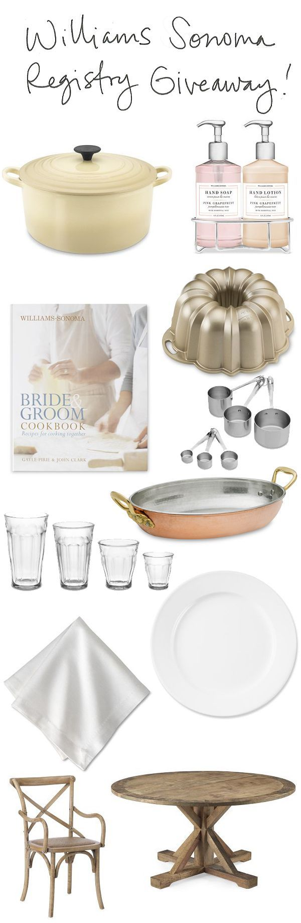 william sonoma giveaway williams sonoma 150 registry giveaway once wed 6452