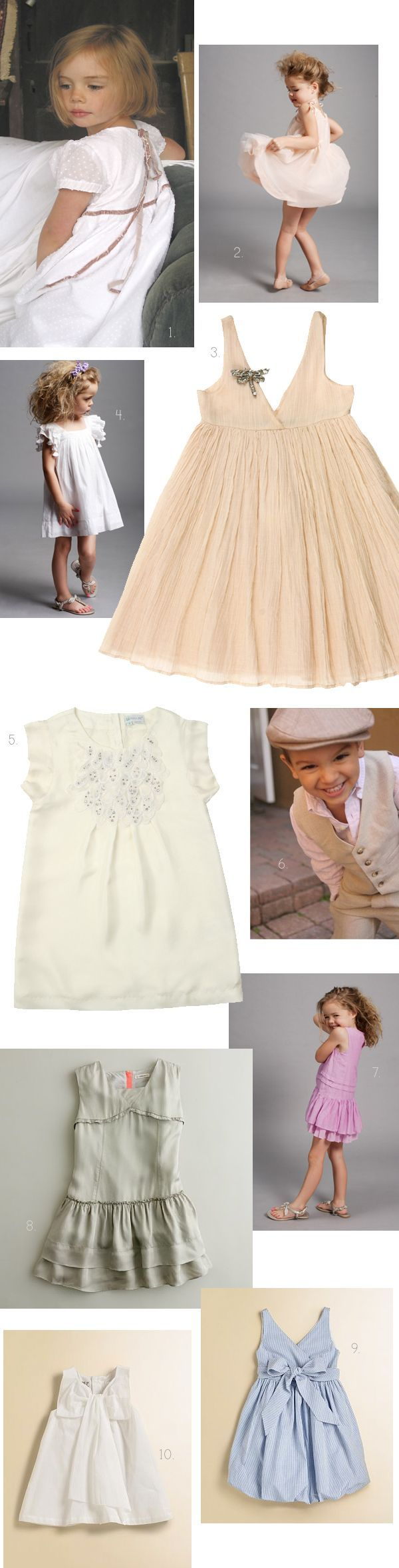 Alternative Flower Girl Dress Round Up