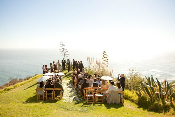 Bluff Wedding Ceremony