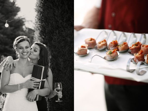 Bride Gifts Wedding Served Appetizers