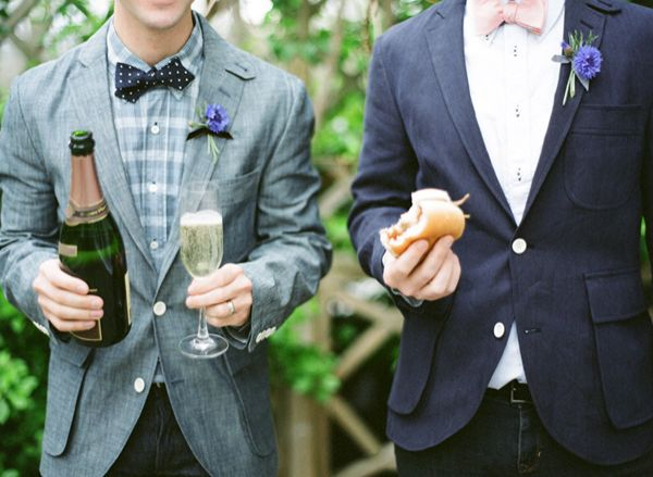 Champagne And Bbq Sandwich