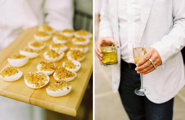 Deviled Egg Wedding Food