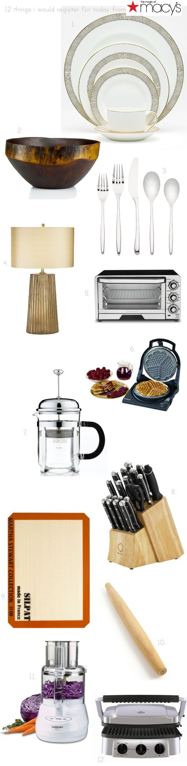 Macy's Wedding Registry Giveaway