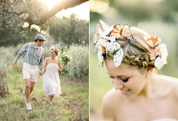 Monarch Butterflies Crown Braid
