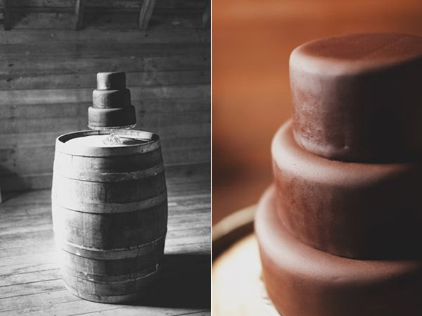 Chocolate Cake Wine Barrel
