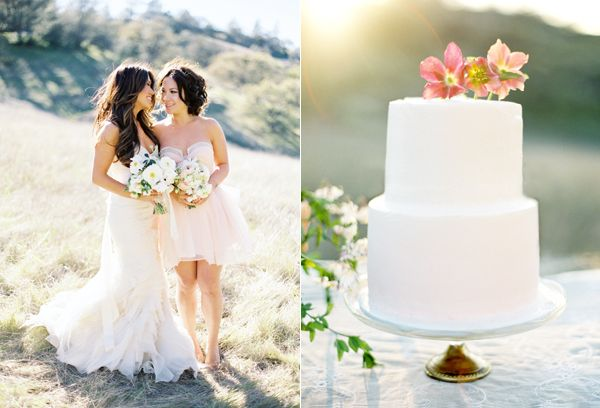 Romantic and Elegant Outdoor Wedding - Once Wed