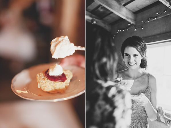 Strawberry Shortcake Bride Tea Reception