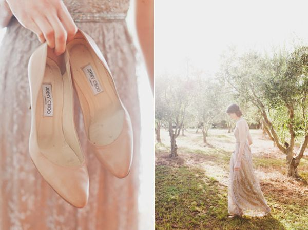 Taupe Jimmy Choo Bride Olive Grove