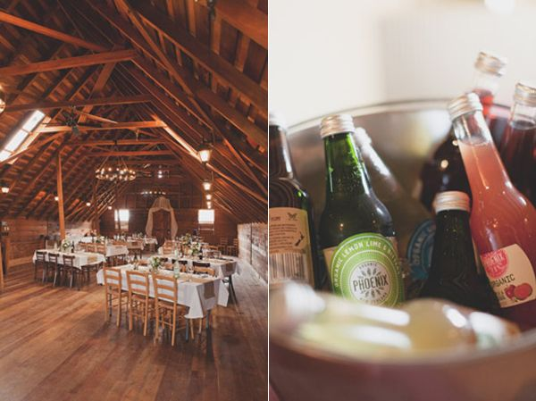 Wedding Reception Barn Loft