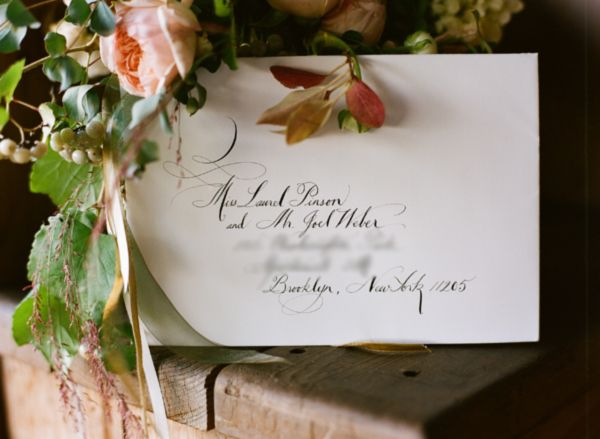 Elegant Wedding Calligrpahy Ideas