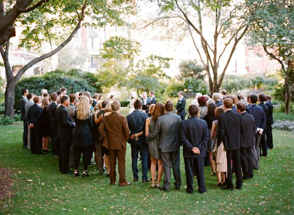 New York Park Wedding Ceremony