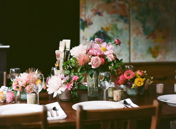 Painterly Tablescape