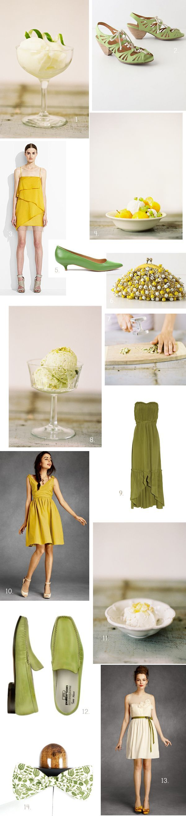 INSPIRATION: Pistachio Ice Cream Party
